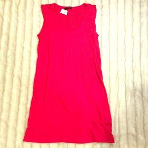 NWT Banana Republic hot pink T-shirt dress, size M